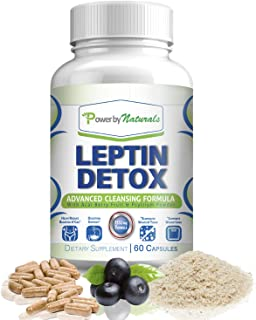 PbyN - Leptin Detox - Advanced Colon Cleanser - Flush Excess Waste and Toxin - Gas, Constipation, and Bloating Relief, Super Cleanse for Weight Loss for Women and Men, Natural, Gentle, 60 Diet Pills