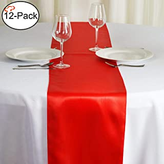 Best cheap red table runners Reviews