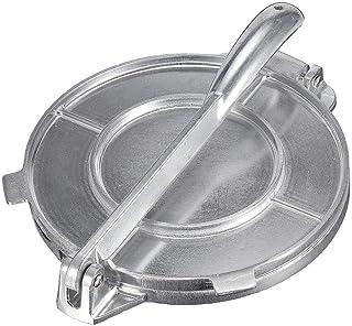 Prensa para Tortillas 16.5 cm - Tortillas Maker De Aleación De Aluminio - Press Sartenes Ensalada Tostada Bakers Tortilladora A Metálico para Familia/Camping/Restaurante