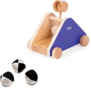 MiO Catapult Imaginative Montessori Style STEM Learning Wooden Castle Playset Accessory for Boys and Girls 3 Years + Up by Manhattan Toy