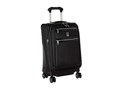 Travelpro Platinum(r) Elite 21 Expandable Carry-On Spinner (Shadow Black) Luggage
