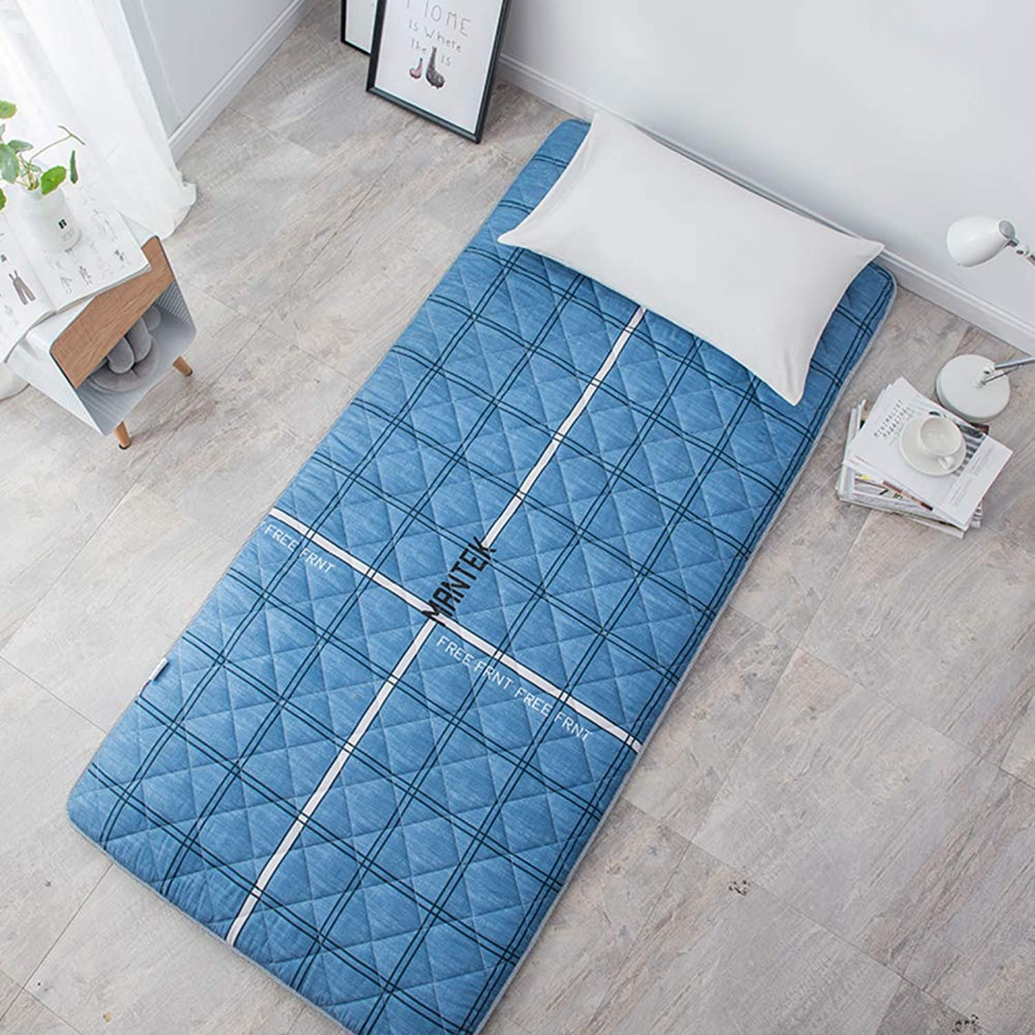 Student Dormitory Tatami Thicken Mattress,Japanese Mattress Single Double Family Foldable Four Seasons Mattress-k 90x200cm(35x79inch)