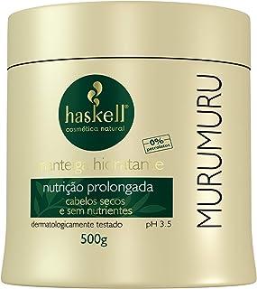 Manteiga Hidratante Murumuru, Haskell, 500 gr