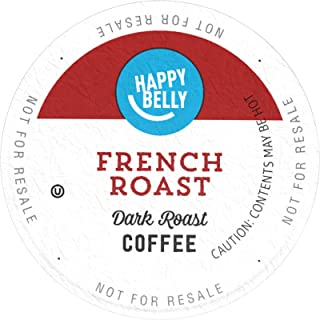 Amazon Brand - 24 Ct. Happy Belly French Roast Coffee Pods
