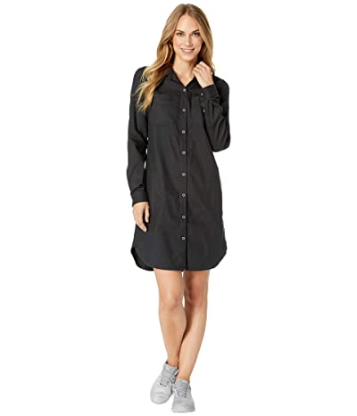 Prana Yarrow Dress (Black) Women