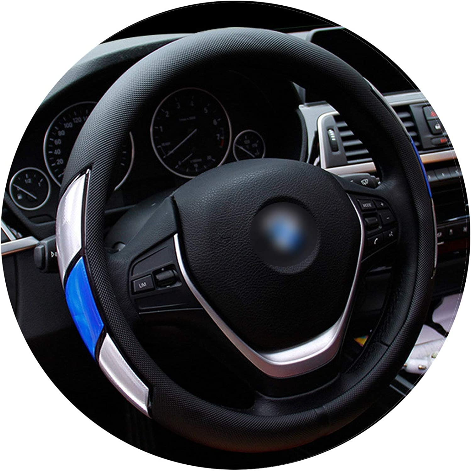 Reflective Movement Diamond Steering Wheel Cover 3 colors AntiSlip for 38Cm Car Styling SteeringWheel CarCovers