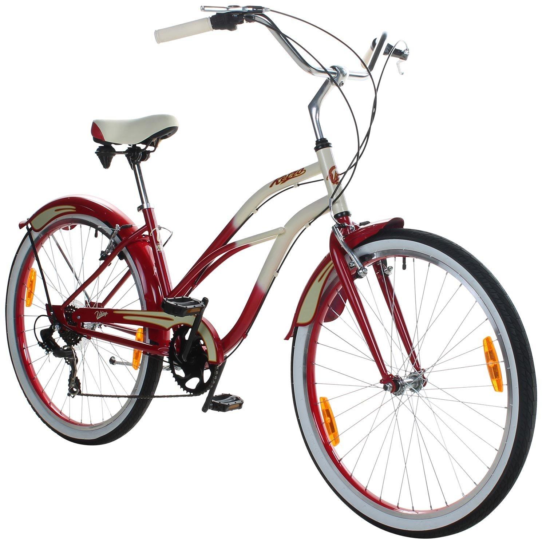 26 pulgadas showbike Viking Retro Ladies bicicleta Cruiser 2 ...