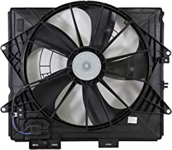 Dual Radiator and Condenser Fan Assembly - Cooling Direct For/Fit GM3115253 09-13 Cadillac CTS Sedan 10-15 CTS Coupe/Wagon 09-11 SRX/STS WITHOUT Tow Package WITH Resistor