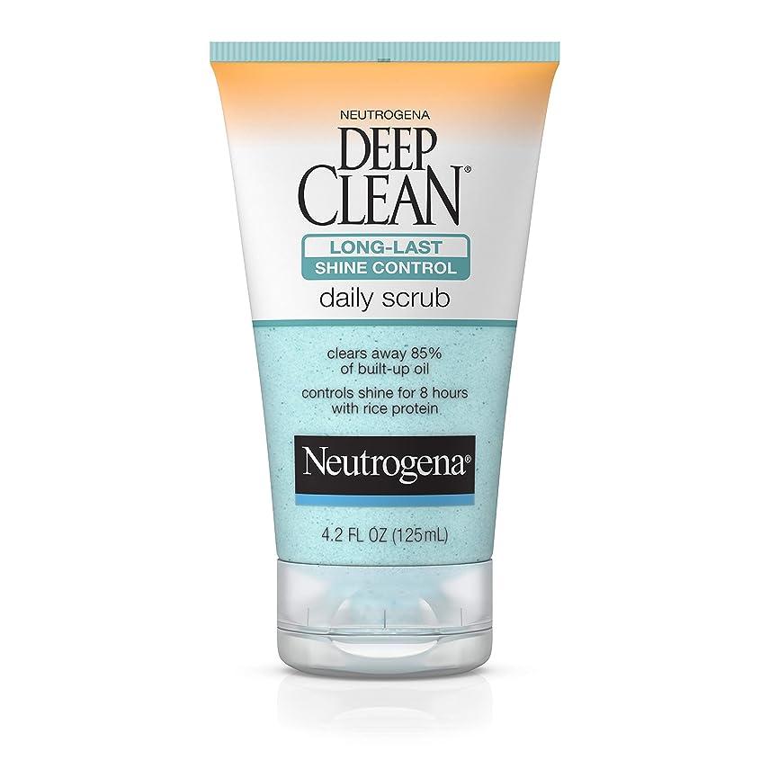 に変わるアレンジ信じられないNeutrogena Deep Clean Shine Control Daily Scrub 124 ml (並行輸入品)