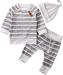 Gobrillant Newborn Toddler Baby Boys Girls Pajamas Romper Jumpsuit Bodysuit Sleepwear Outfits