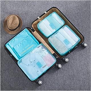 6pcs Travel Organiser Bag Clothes Underwear Pouch Suitcase Luggage Storage Case