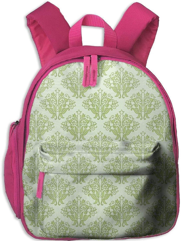 Grün Grün Grün Vintage Pattern Lovely Kids Backpack Economical Kindergarten Bookbag Durable School Travel Bag B07Q2T4NZ6  Mode Vitalität 2b7a7c