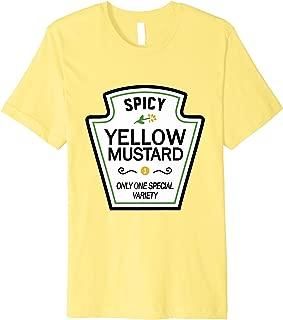 Mustard Condiments Group Halloween Costumes T-Shirt Premium T-Shirt
