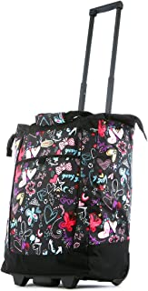 Fashion Rolling Shopper Tote - Butterfly, 2300 cu. in.