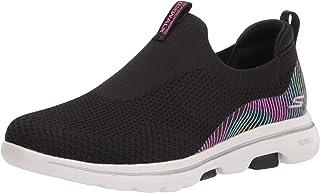 حذاء رياضي Skechers GO WALK 5 مطبوع بكعب منزلق