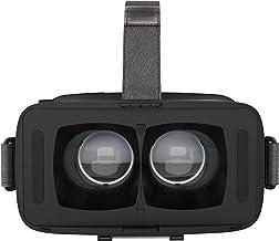 DESTEK VR Headset for Smartphone, Black Adjustable Lightweight VR Glasses, Vitrual Reality Goggles 3D Mobile VR with Remote
