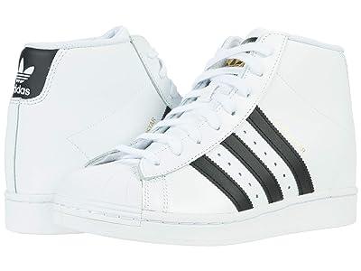 adidas Originals Superstar Up Sneaker Wedge (Footwear White/Core Black/Gold Metallic) Women