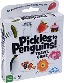 Outset Media - Pickles To Penguins Travel Edition - the Quick Thinking Card Game