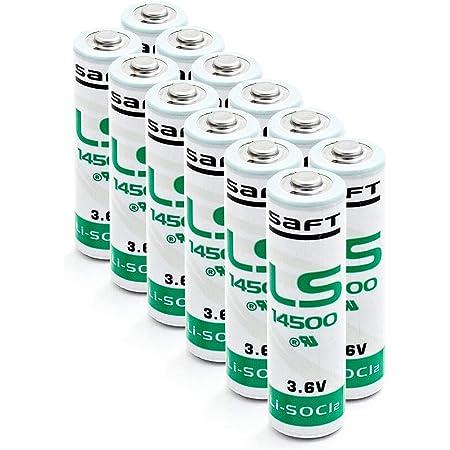 12 Stück Saft Ls 14500 Aa 3 6v Li Socl2 Batterien Elektronik