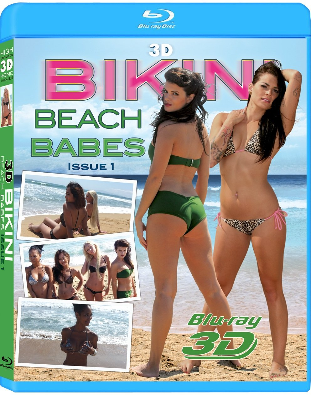 Limited Seattle Mall time for free shipping 3D Bikini Babes Beach