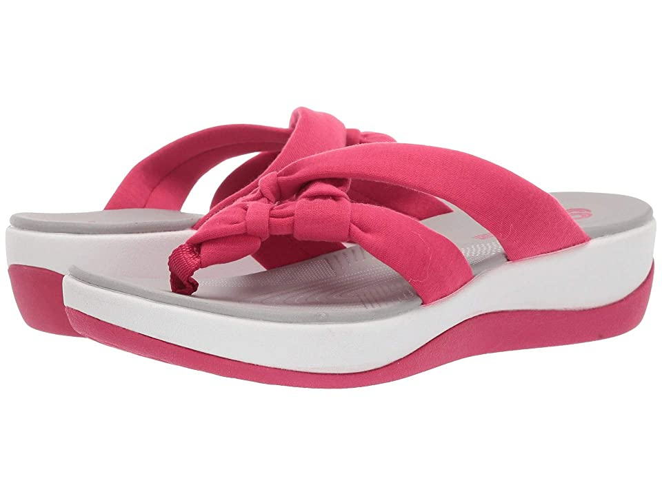Clarks Arla Jane (Bright Rose Solid Textile) Women