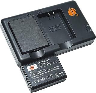 バッテリーパック LP-E10 互換バッテリー 2個 + 充電器 セット (大容量 2100mAh USB 急速充電) Canon EOS 1100D,1200D,1300D,2000D,4000D,Kiss X50,Kiss X70,Kiss...