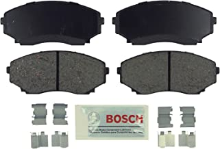 Bosch BE551H Blue Disc Brake Pad Set with Hardware for 1992-06 Mazda MPV - Front