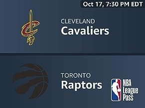 NBA 2018-19: Cleveland Cavaliers vs. Toronto Raptors