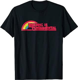 Reading is Fundamental Rainbow Shirt