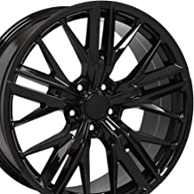 OE Wheels 20 Inch Fits Chevy Camaro ZL1 Style CV25 Gloss Black 20x9.5 Rim