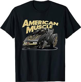 American Muscle Hot Rod 400 Firebird Custom Car T-Shirt