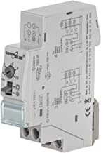 Kongqiabona M/ódulo de rel/é FRM01 DC 12 V 1 Canal M/ódulo de rel/é multifunci/ón Interruptor Temporizador de retardo de Bucle