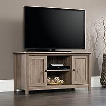 "Sauder County Line Panel TV Stand, For TVs up to 47"", Salt Oak finish"