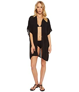 Solid Open Front Caftan