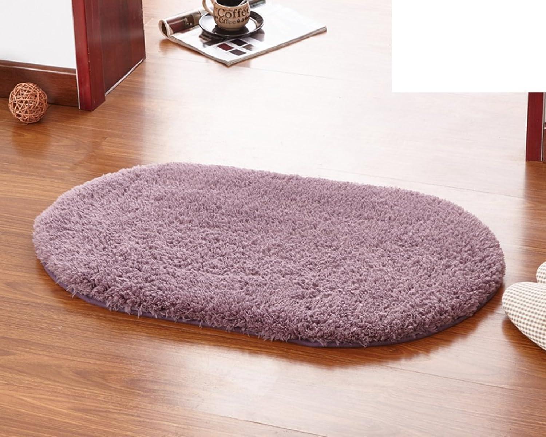 Door mats Bedroom Living Room Water-Absorbing mat Bathroom Kitchen Non-Slipping mat-A 100x200cm(39x79inch)