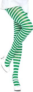 Women's Nylon Striped Tights
