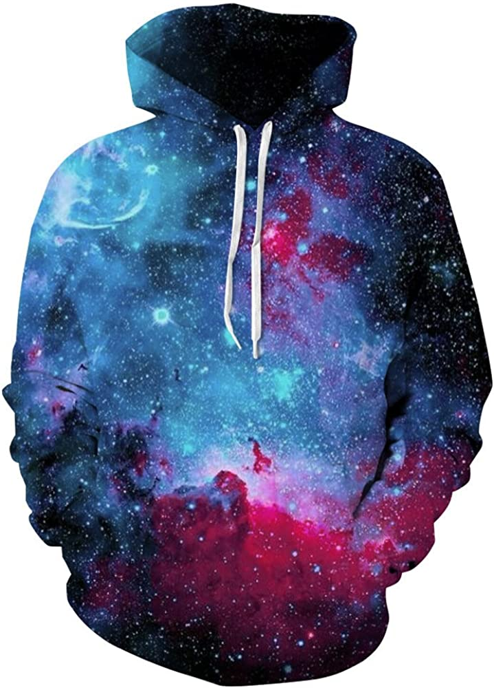 HULAHA Unisex 3D 35% OFF Pattern Ranking TOP4 Plus Pullover Gala Size Novelty Hoodies