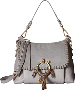 Small Joan Shoulder Bag with Rope Whipstitch