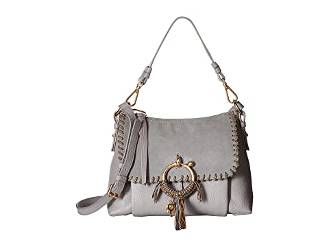 See by Chloe Small Joan Shoulder Bag with Rope Whipstitch