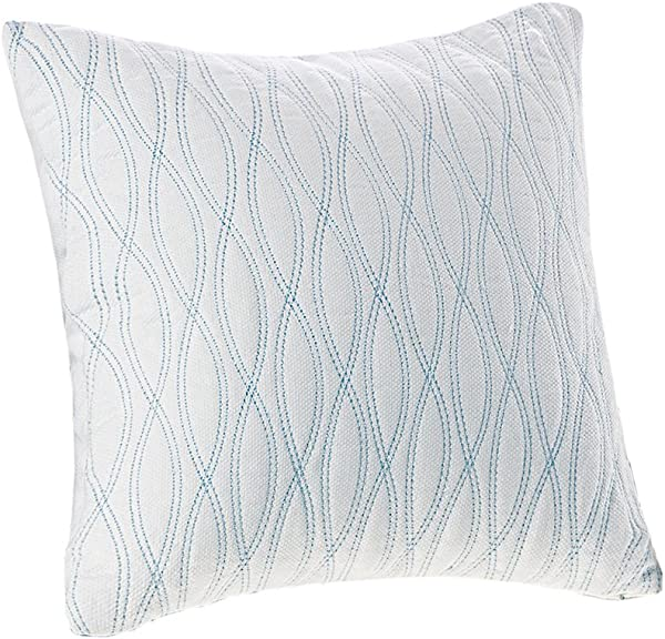 Harbor House Coastline 18 By 18 Inch Polyester Fill Pillow