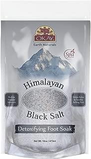 OKAY Pure Naturals Sal negra del Himalaya, 16 onzas, 0.45 kg