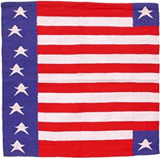 Tough-1 Patriotic Acrylic Saddle Blanket