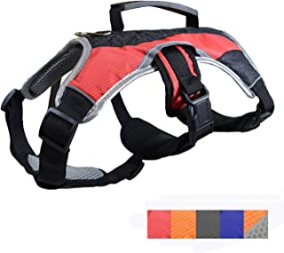 Dog Walking Lifting Carry Harness, Support Mesh Padded Vest, Accessory, Collar, Lightweight, No More Pulling, Tugging or C...