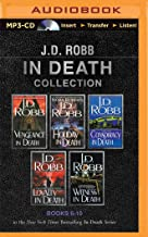 J. D. Robb In Death Collection Books 6-10: Vengeance in Death, Holiday in Death, Conspiracy in Death, Loyalty in Death, Wi...