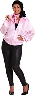 Women's Pink Ladies Jacket Plus Size Officially Licensed Grease Costume
