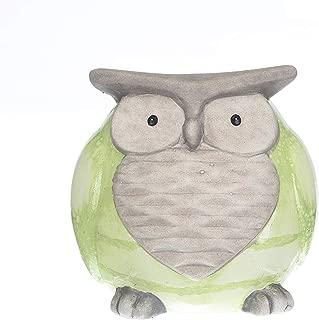 Topadorn Ceramic Owl Statue for Garden décor, Tableshelp Ornaments Figurine Statues