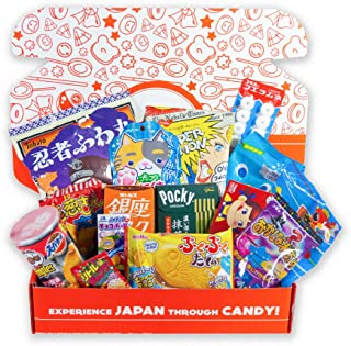 Japan Crate – Premium Japanese Candy and Dagashi Assortment – Amazon Exclusive Japanese Snack & Candy box