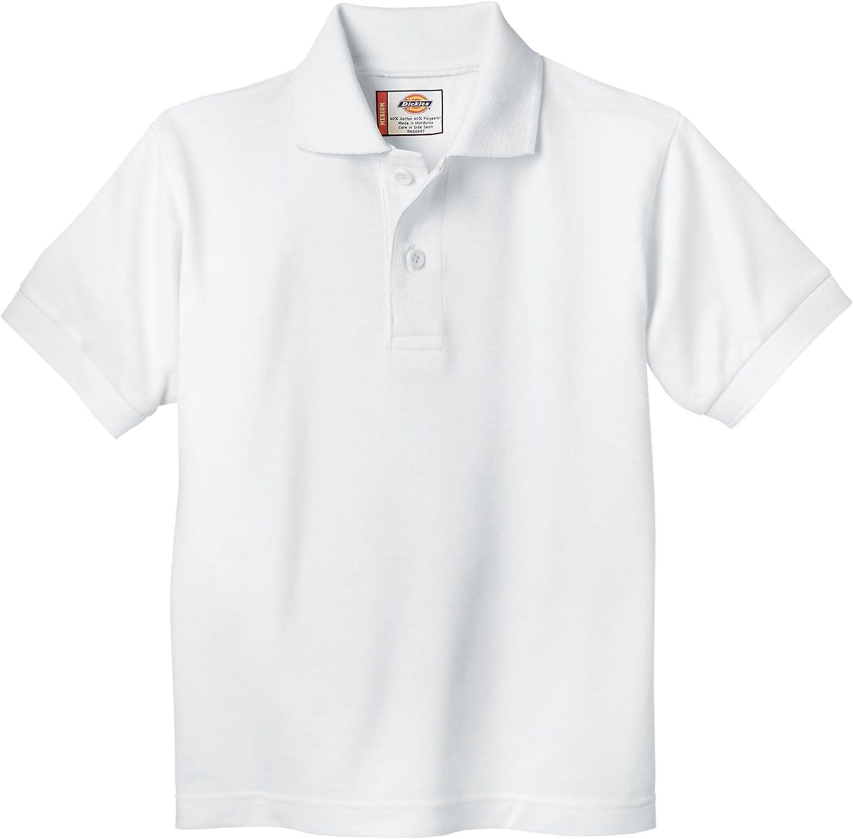 Dickies Boys' Short Sleeve Polo