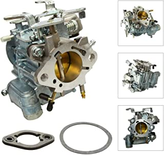 SUPERFASTRACING Carburetor W/Choke Thermostat for Chevy & GMC L6 250 & 292 1 BBL Rochester