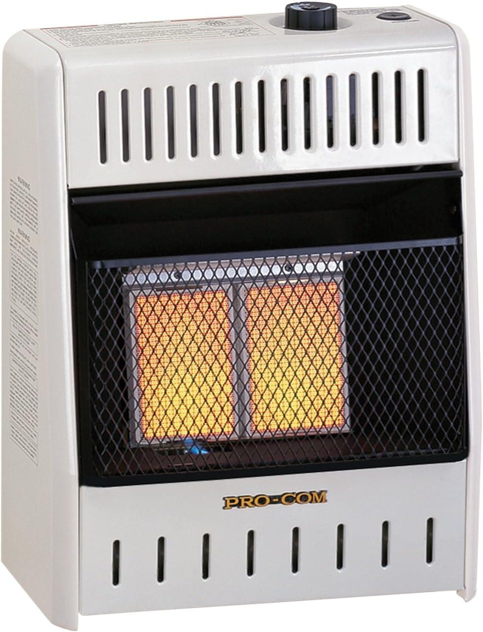 ProCom MNSD2TPA Dual NATURAL PROPANE Oklahoma City Mall Heater 00 Vent-Free Wholesale GAS 10